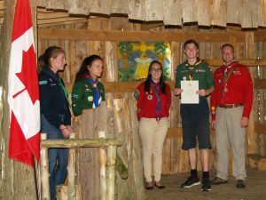 Chief Scout Award June 24 2017 EW