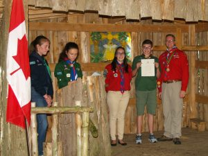Chief Scout Award June 24 2017 K.L.
