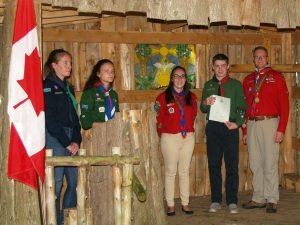 Chief Scout Award June 24 2017 NM